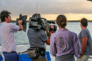 The-Weekender-crew-filming-on-board-the-Armaroo-Oct-2020