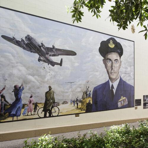 Military aviators honoured in airport road name changes