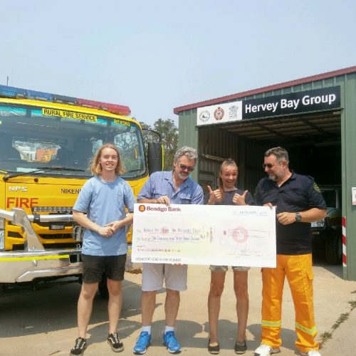 FX of Coffee raises funds for Rural Fire Brigade
