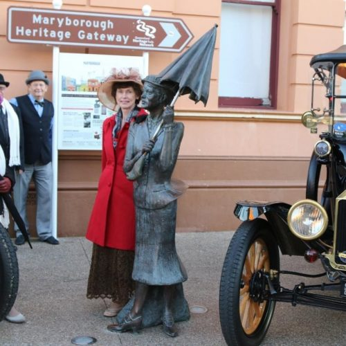 The Model T Fords roll into Maryborough later this year