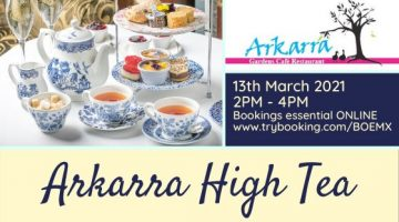 Arkarra High tea