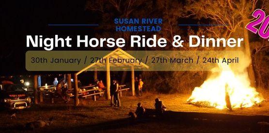 Night Horse Ride & Dinner