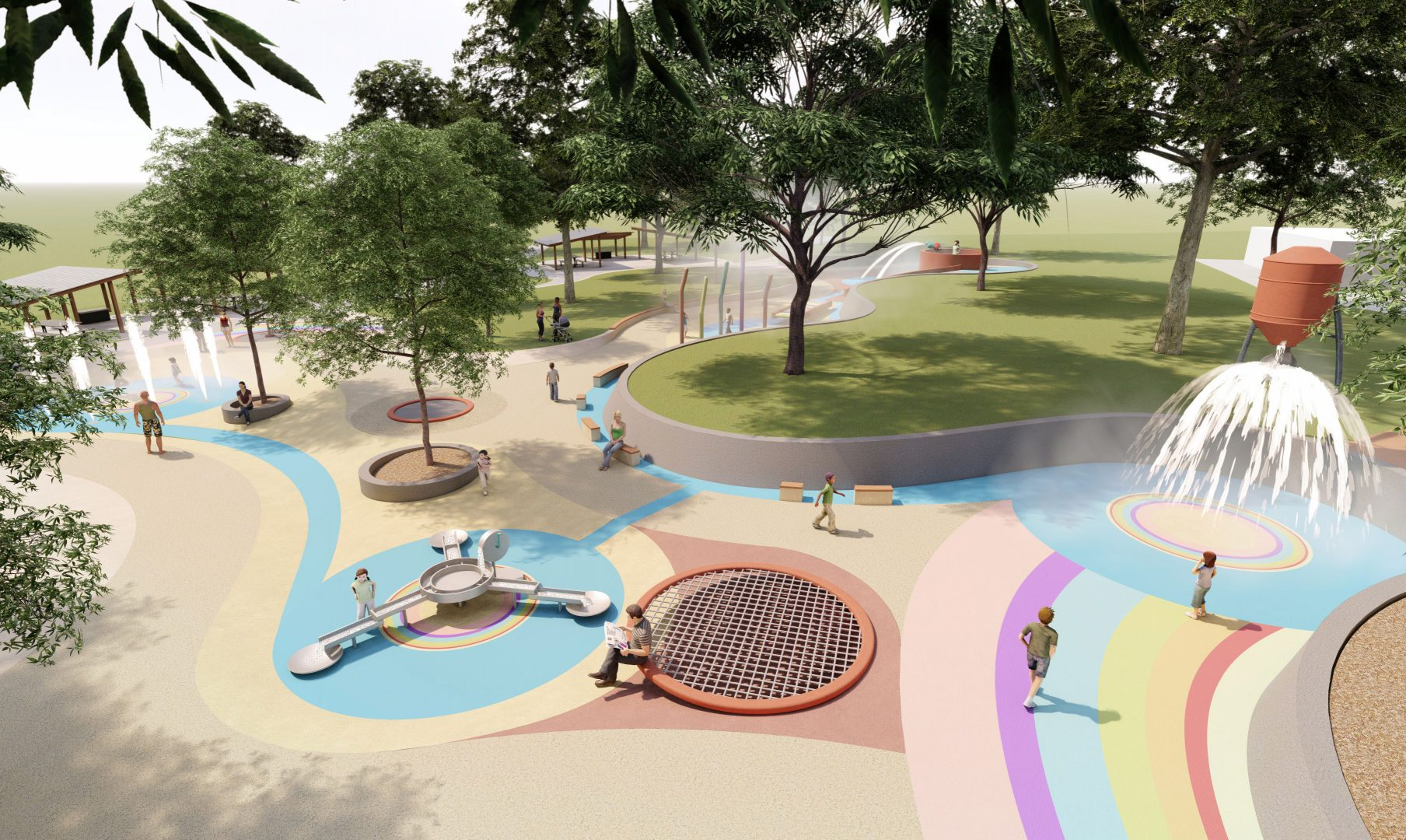 Maryborough water playground to be named 'SplashSide'