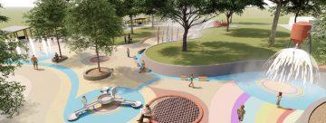 Maryborough water playground to be named 'SplashSide'