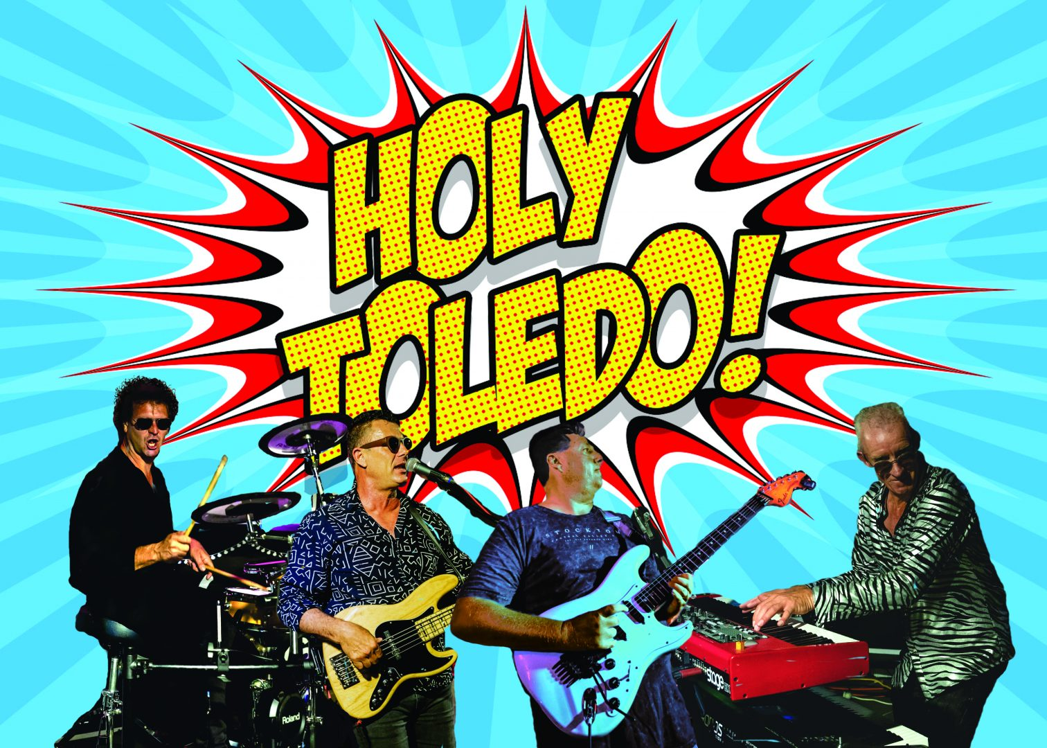 On the Music Scene with Holy Toledo