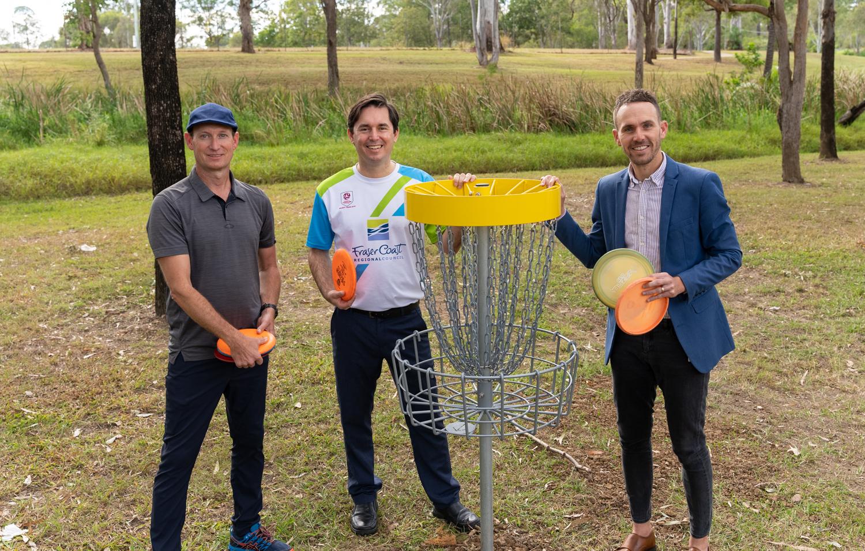 Council opens Disc Golf course in Maryborough