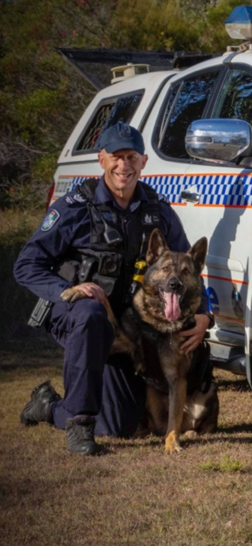 Posthumous recognition for Police Dog Rambo