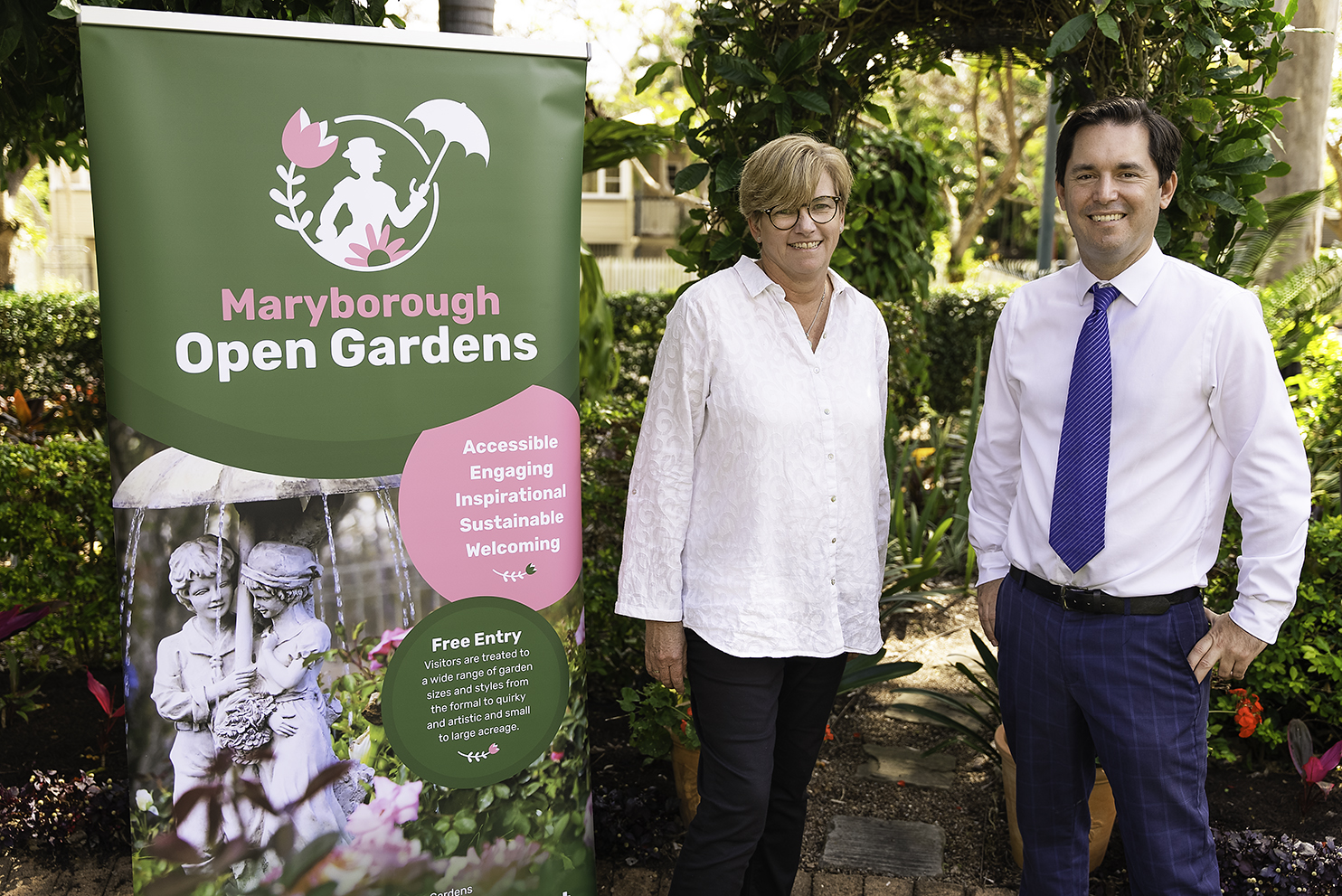 Open Gardens and Mary Poppins take flight