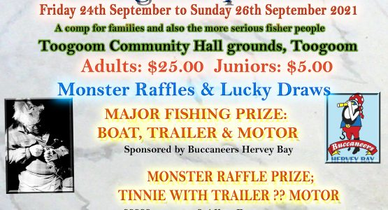 2021 Toogoom Family Fishing Competition