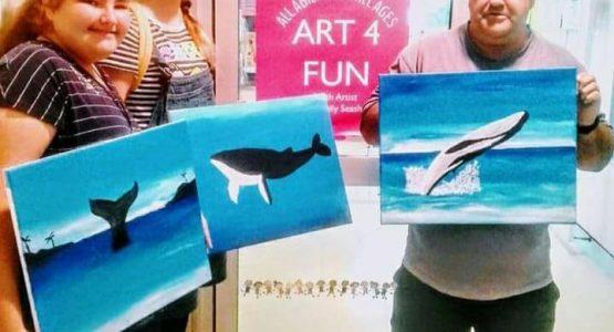 Art 4 Fun Tuesday's Beach House Hotel
